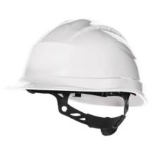 DP QUARTZ UP 3 Védősisak csavaros rögzítőpánttal +1000V villamos szig. fehér