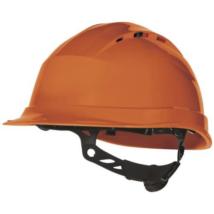 DP QUARTZ UP 4 Szellőző védősisak csavaros rögzitőpánttal narancs