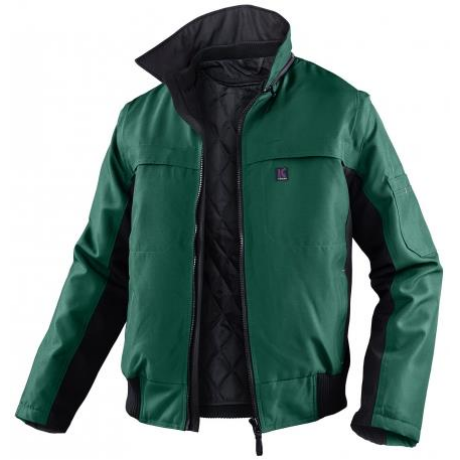KÜ Weather Inno Plus Téli dzseki 1167 zöld-fekete XS (38-40) - 4XL (66-68)-ig