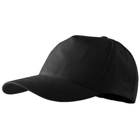 ADLER 307 Öt paneles baseball sapka fekete