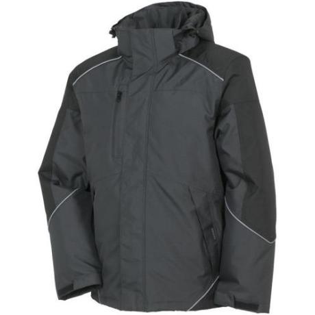 PLAN DESERT Téli kabát szürke-fekete XS-8XL-ig