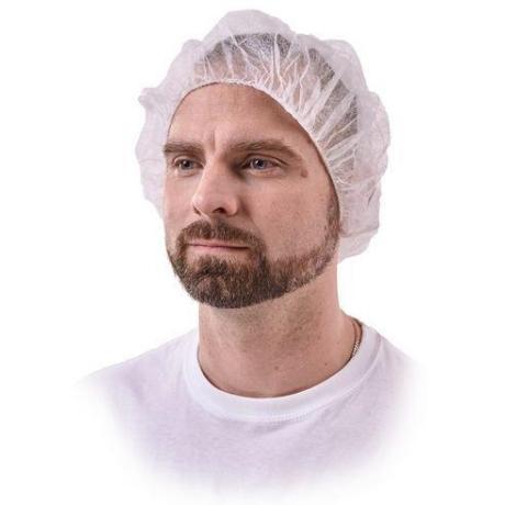 TIDY 45610 PP Hajháló fehér 100db/csomag