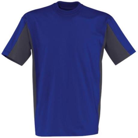 KÜ Shirt Póló 5020 búzavirágkék-antracit XS-4XL-ig