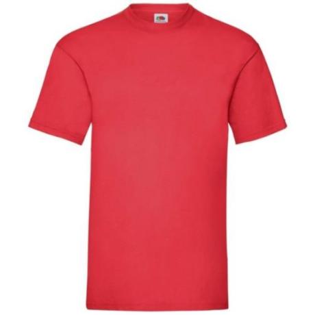 FoL Valueweigt T rövidujjú környakas póló red S-2XL-ig