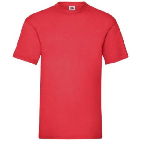 FoL Valueweight T rövidujjú környakas póló red S-2XL-ig