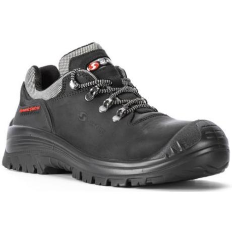 SIX BADIA S3 Bőr félcipő szürke reflex 38-48-ig