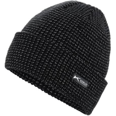 KÜ Kiegészítő Kötött téli sapka 8207 fekete