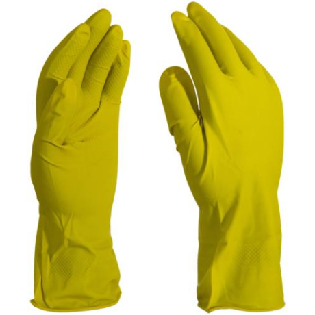 MO HG-60 Háztartási gumikesztyű sárga 60g S-XL