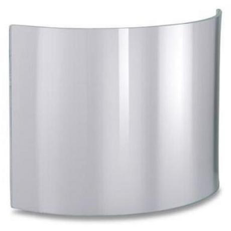 JUTEC HWS1525CLEAR Hajlított víztiszta üveg (H3110040 kámzsához) 150*250mm