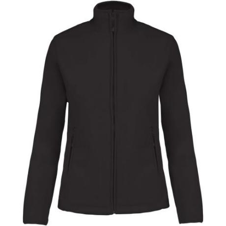 KA907 Maureen Női polár kabát black S-4XL-ig