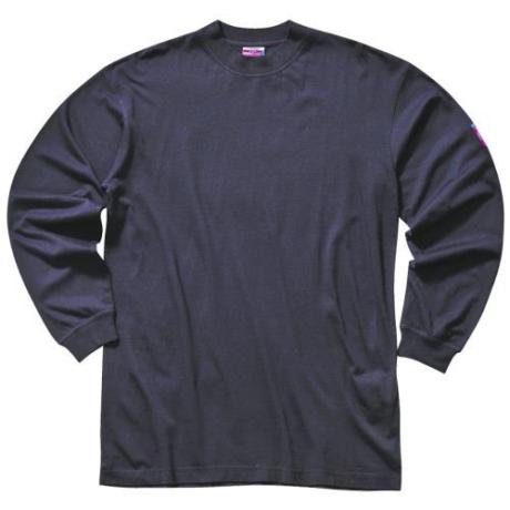 PW FR11 Láng, antisztatikus környakas póló s.kék XS-5XL-ig