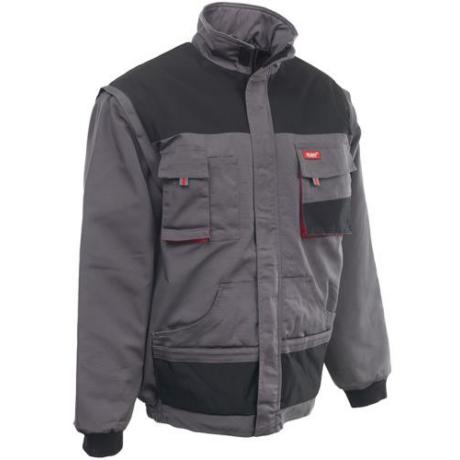 MO ROCK-PRO Téli dzseki s.szürke-fekete-piros S-5XL-ig