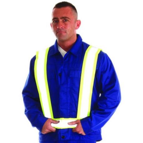 MO RSV008-Y/FFI Jólláthatósági kantár sárga férfi méret